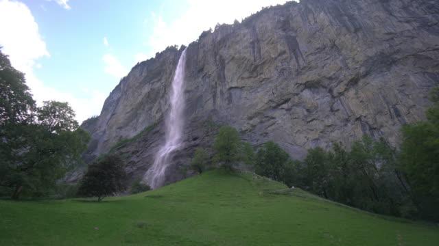 Staubbach falls video