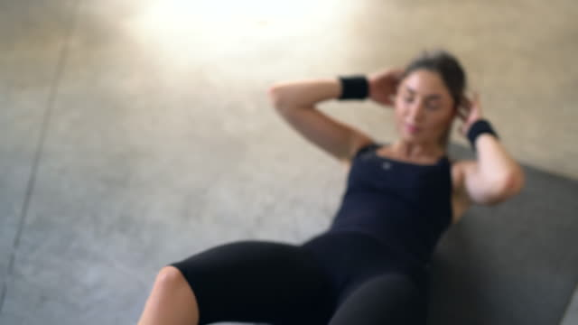 restare in forma - man city exercise abs video stock e b–roll