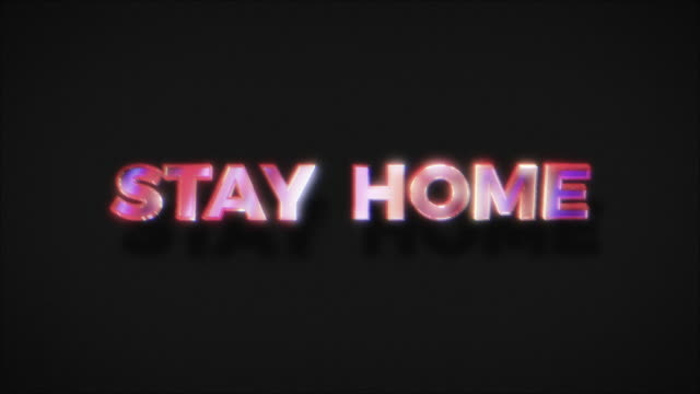 Stay home Stay Safe Save Lives Stay home, Stay Safe, Save Lives. Social media campaign and coronavirus prevention for reduce risk of infection and spreading the virus stay home stock videos & royalty-free footage