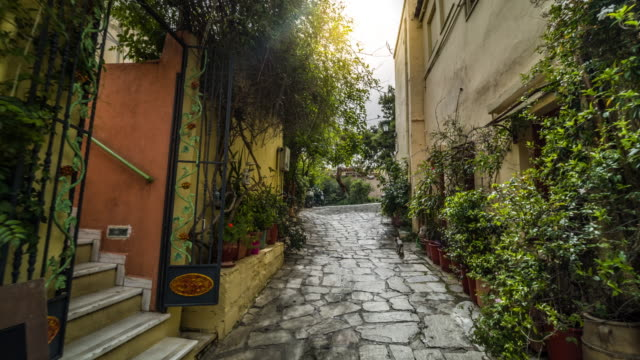 Steadycam: Plaka-Viertel in Athen, Griechenland – Video
