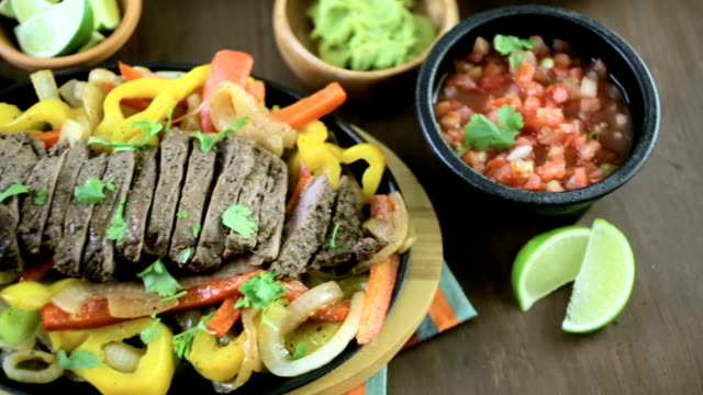 Steak Fajitas video