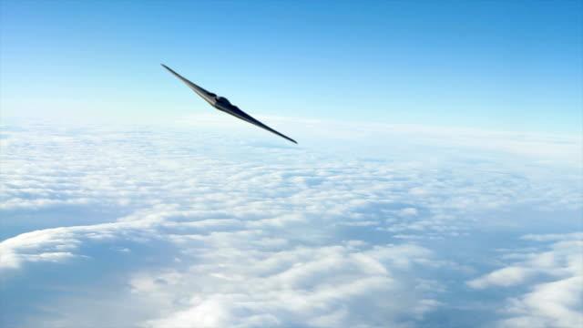 b -2 ステルス爆撃機 - こっそり点の映像素材/bロール