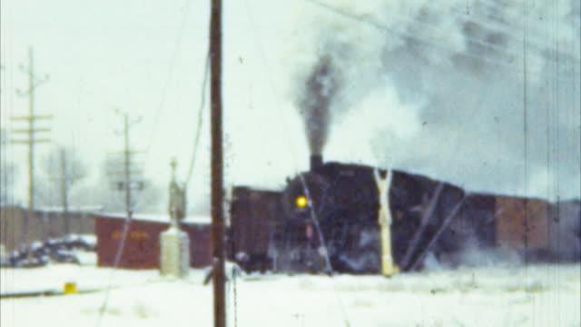 Steam Locomotive Train (Archival 1950s) video
