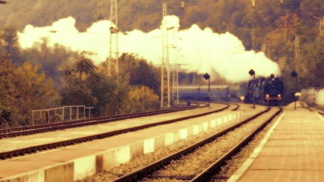 Steam locomotive video
