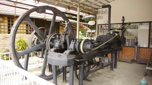 macchina a vapore - rivoluzione industriale video stock e b–roll