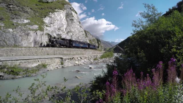 DFB steam train video
