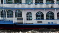istock Steamboat at the harbor of Hamburg and Elbe river 474406292