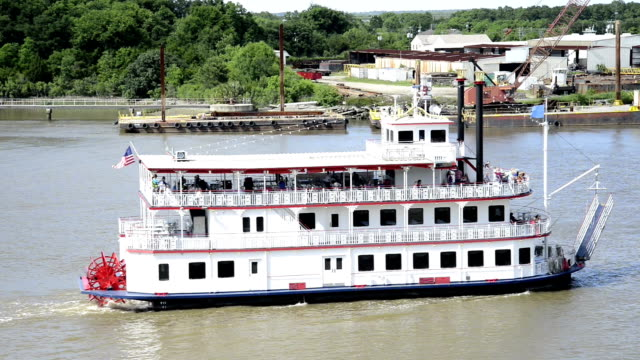 Steamboat on Savannah river
