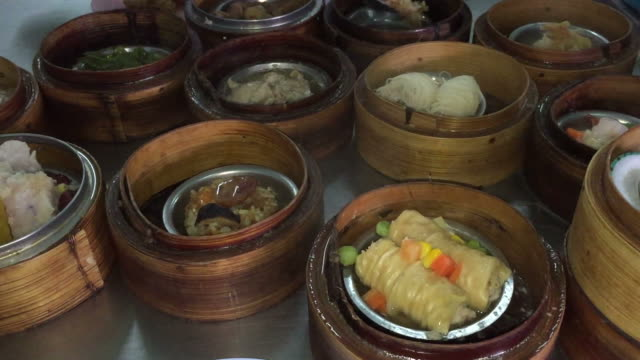Steamed dim sum video