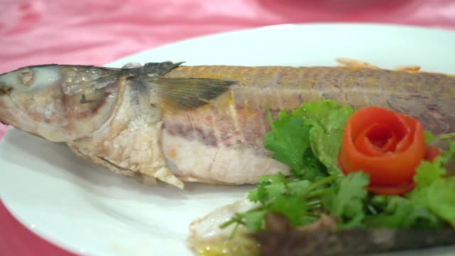 Steamed Fish in Pickled Plum Sauce video