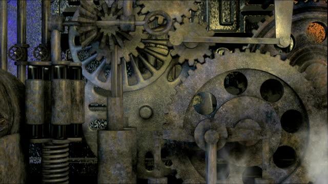 vídeos y material grabado en eventos de stock de steampunk - manija