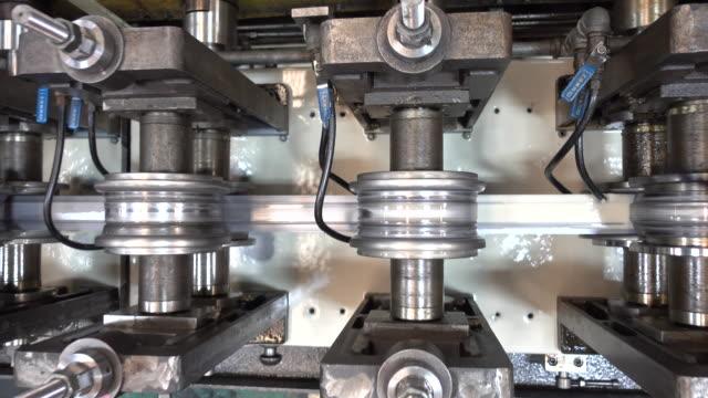 Steel bending machine video
