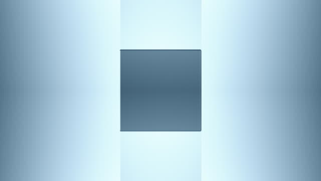 vidéos et rushes de 3d cube acier - cube