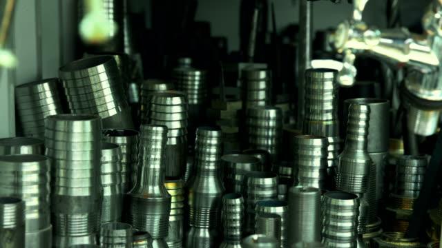 Steel Hose adapters Steel Hose adapters pipe connector stock videos & royalty-free footage