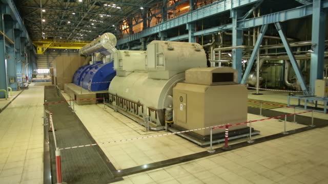 steel mill interior view/canakkale-turkey     canakkale/turkey 11/11/2014 - alluminio video stock e b–roll