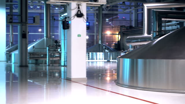 Steel tanks for beer brewing and storage video