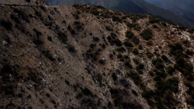 Steep Cliffs in California Mountains video