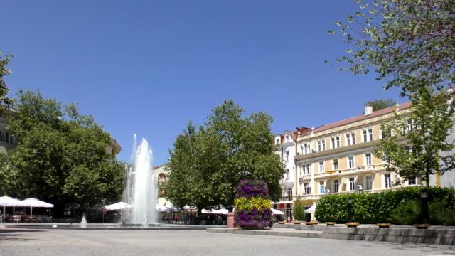 Stefan Stambolov Square - Plovdiv, Bulgaria video