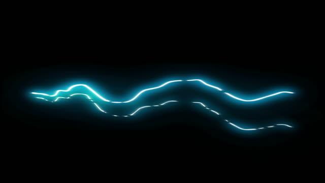 vidéos et rushes de 3 étape longue spark shot animation de dessin animé électrique 29 - électricité