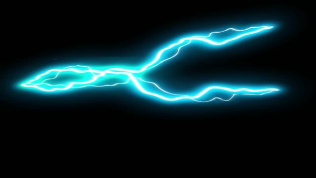 3 步長火花拍攝頻繁電動卡通動畫 30 - lightning 個影片檔及 b 捲影像