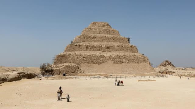 Step pyramid of Djoser video