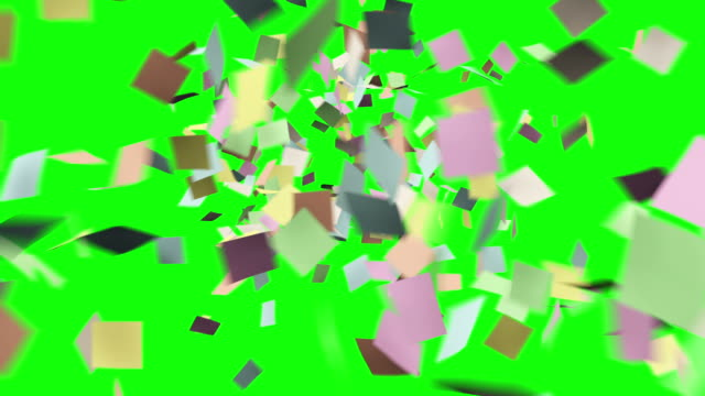 stickyflyingup_blur_greenscreen - to do list video stock e b–roll