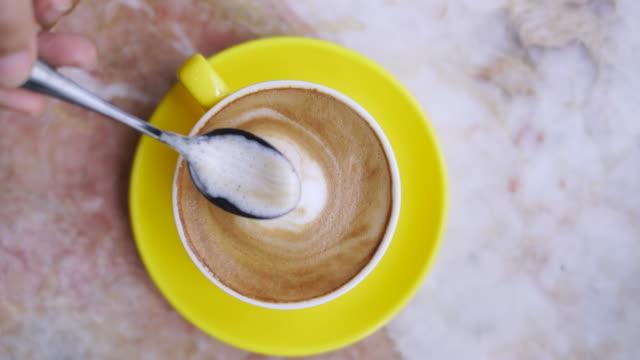 Stir And Drink Coffee