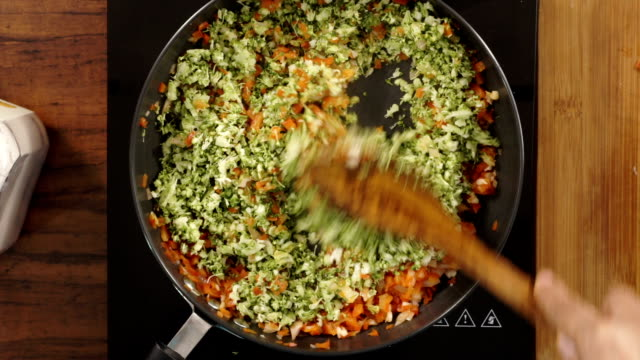 Stir Frying video