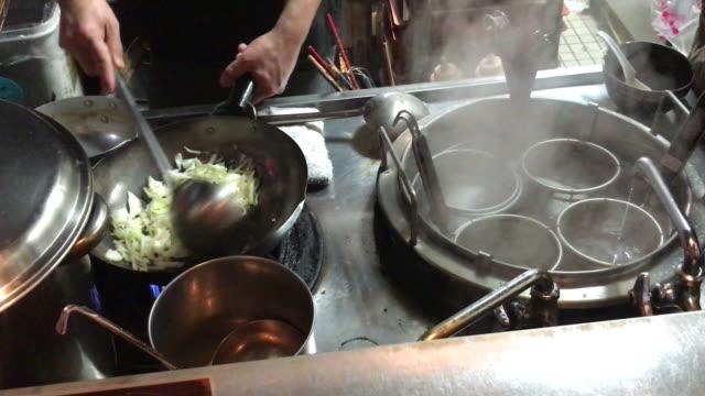 野菜炒め - ビーガン点の映像素材/bロール