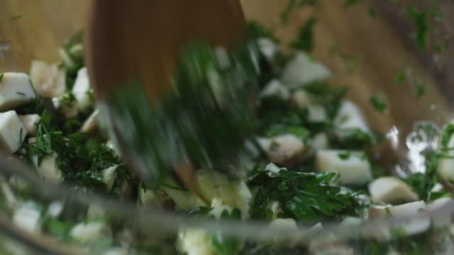 Stirring Salad video