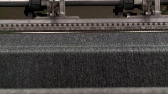 stitchbond primo piano - feltro video stock e b–roll