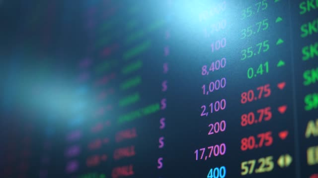 stock exchange market - profit stock videos & royalty-free footage