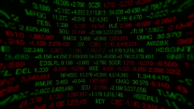 Stock Market Board (Loopable) video