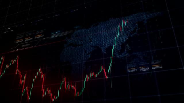 stock market konzept - börsenhandel finanzberuf stock-videos und b-roll-filmmaterial