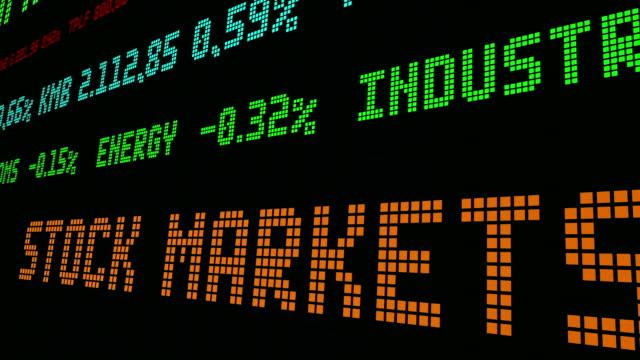 Stock market ticker Stock market ticker wall street stock videos & royalty-free footage