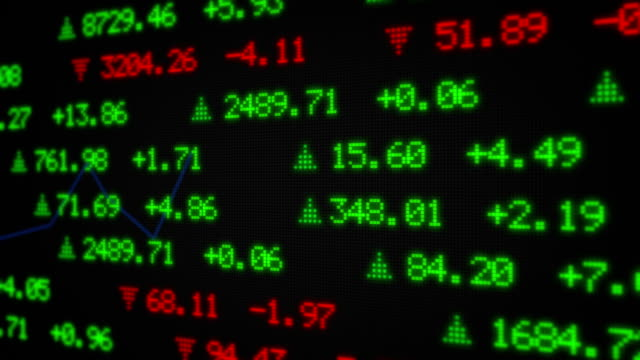 Stock Market Tickers Data video
