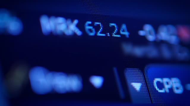 Stock Market Tickers Data video