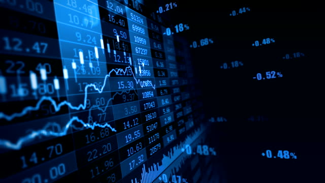 Stock Market Stock market trend of animation. stock market stock videos & royalty-free footage