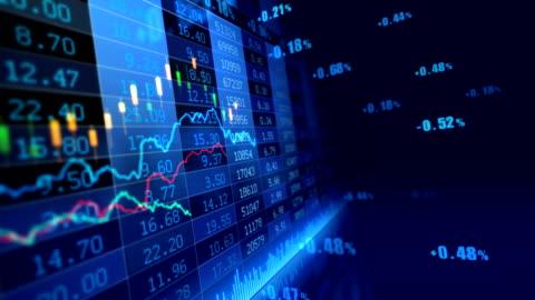 vidéos et rushes de marché boursier - nombre