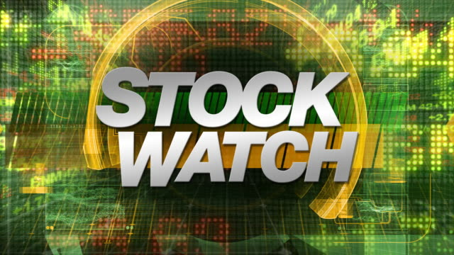 Stock Watch - Broadcast Graphics Title video