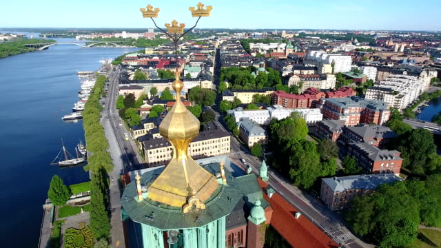Stockholm Aerial video