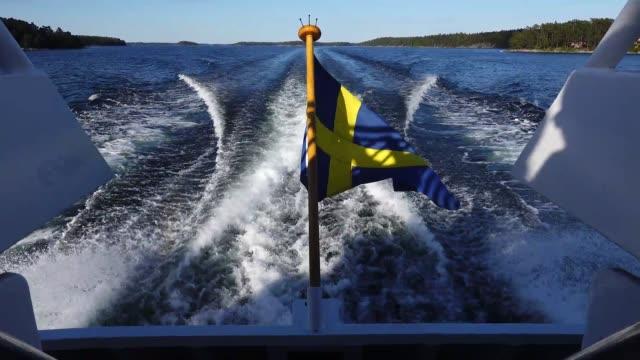 vídeos de stock e filmes b-roll de stockholm archipelago - arquipélago