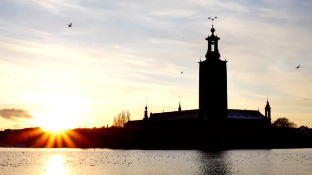 stockholms stad i skymningen - stockholm bildbanksvideor och videomaterial från bakom kulisserna