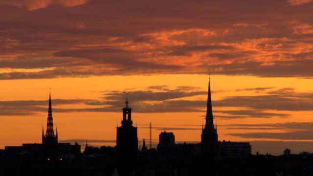 Stockholm City, Old town, Sweden, Scandinavia. video