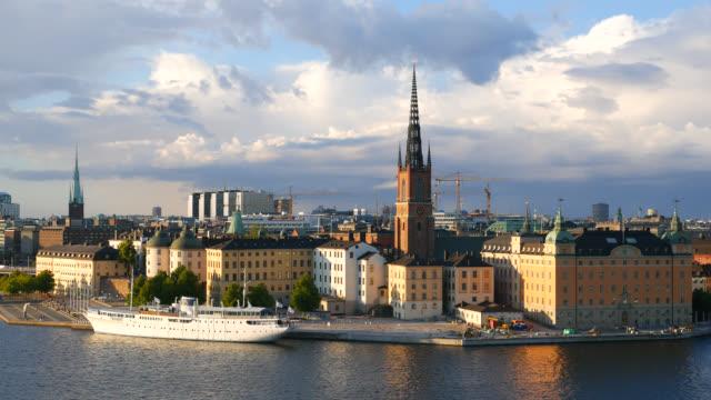 Stockholm City Skyline video