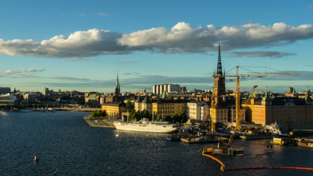 Stockholm City Time Lapse video