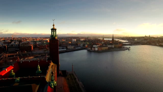 Stockholm City General view of Stockholm City stockholm stock videos & royalty-free footage