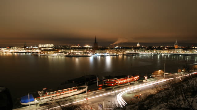 Stockholm Night - Timelapse video