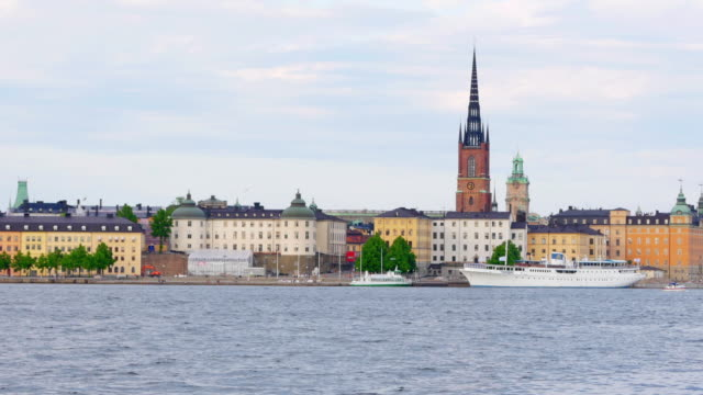 Stockholm old city view, Sweeden video