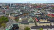 istock Stockholm rooftops, Strandvägen and Nybroviken. Central Stockholm in background, diagonal panning 1256764486